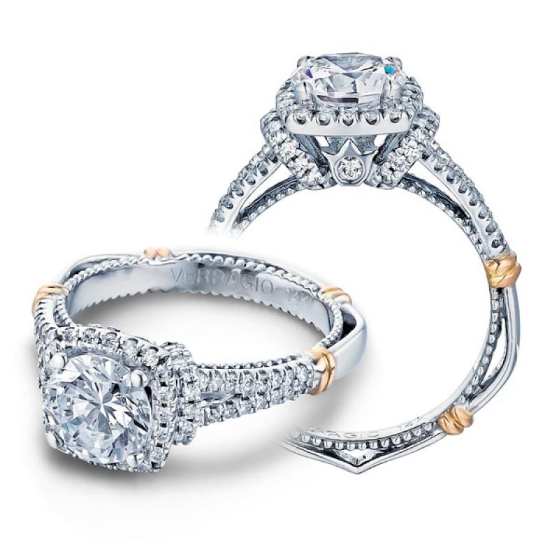 Verragio Wedding Bands.Verragio Parisian D 117cu Halo Pave Engagement Ring