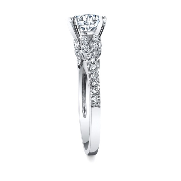 Kirk Kara K1290DC-R Engagement Ring