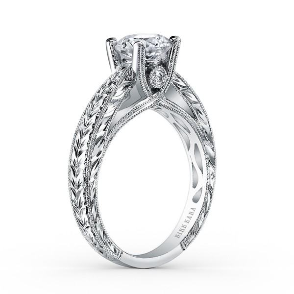Kirk Kara SS6765-R Engagement Ring