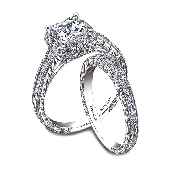Kirk Kara SS6996-R Engagement Ring
